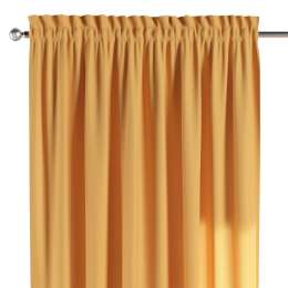 Slot and frill curtains