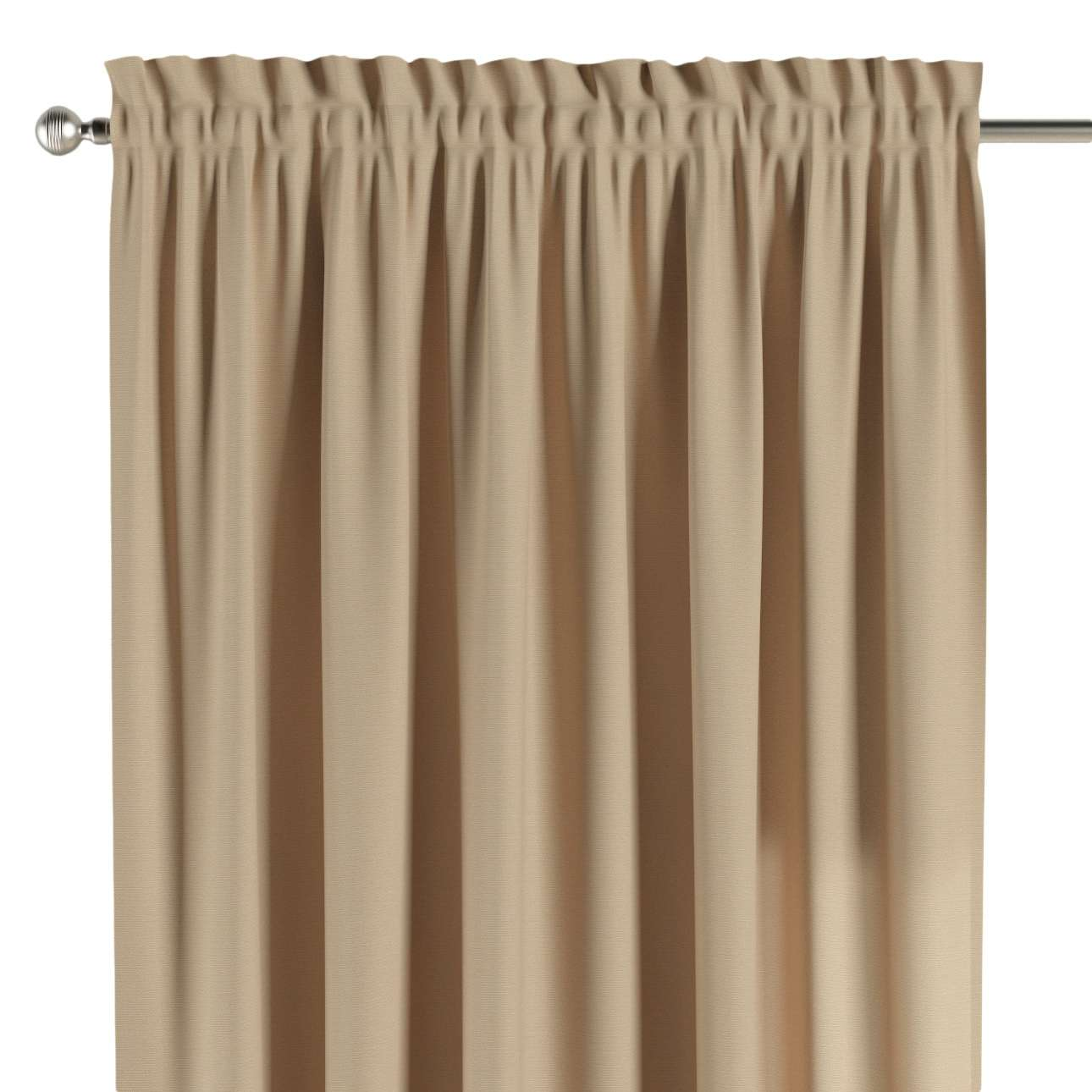 Slot and frill curtains in collection Panama Cotton, fabric: 702-01
