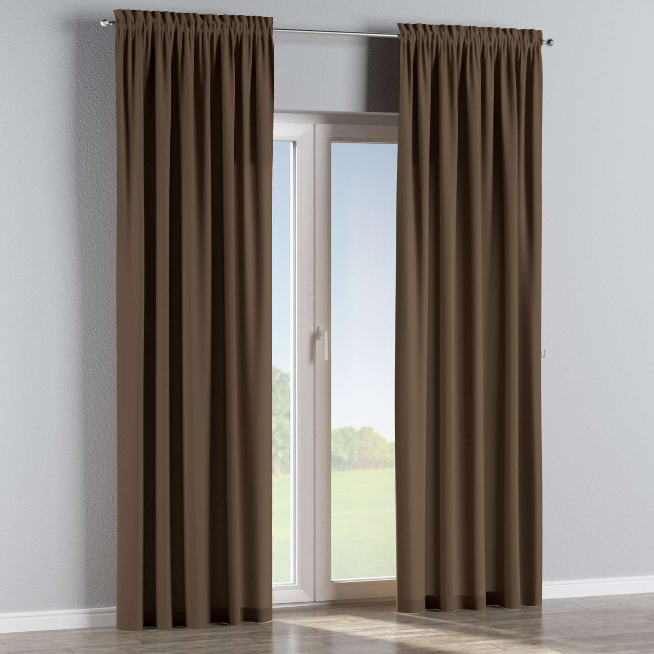 Slot and frill curtains in collection Panama Cotton, fabric: 702-02
