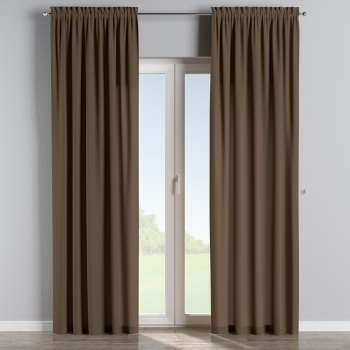 Slot and frill curtains 130 x 260 cm (51 x 102 inch) in collection Panama Cotton, fabric: 702-02