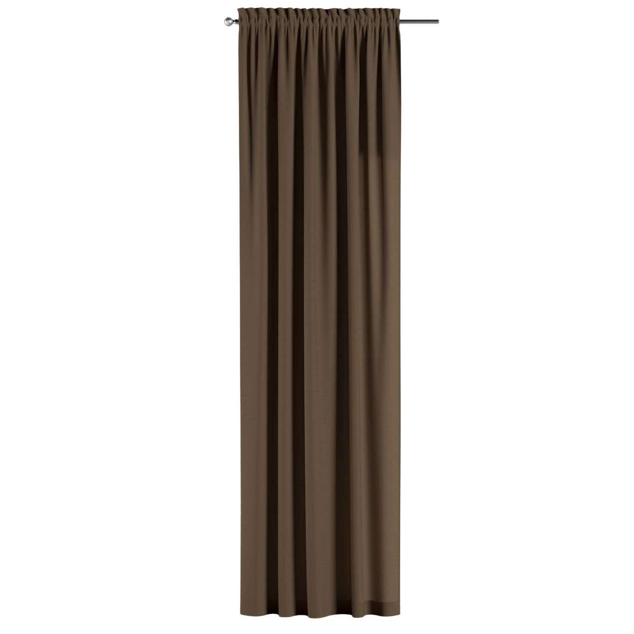 Gardin med kanal 1 längd 130 x 260 cm i kollektionen Panama Cotton , Tyg: 702-02