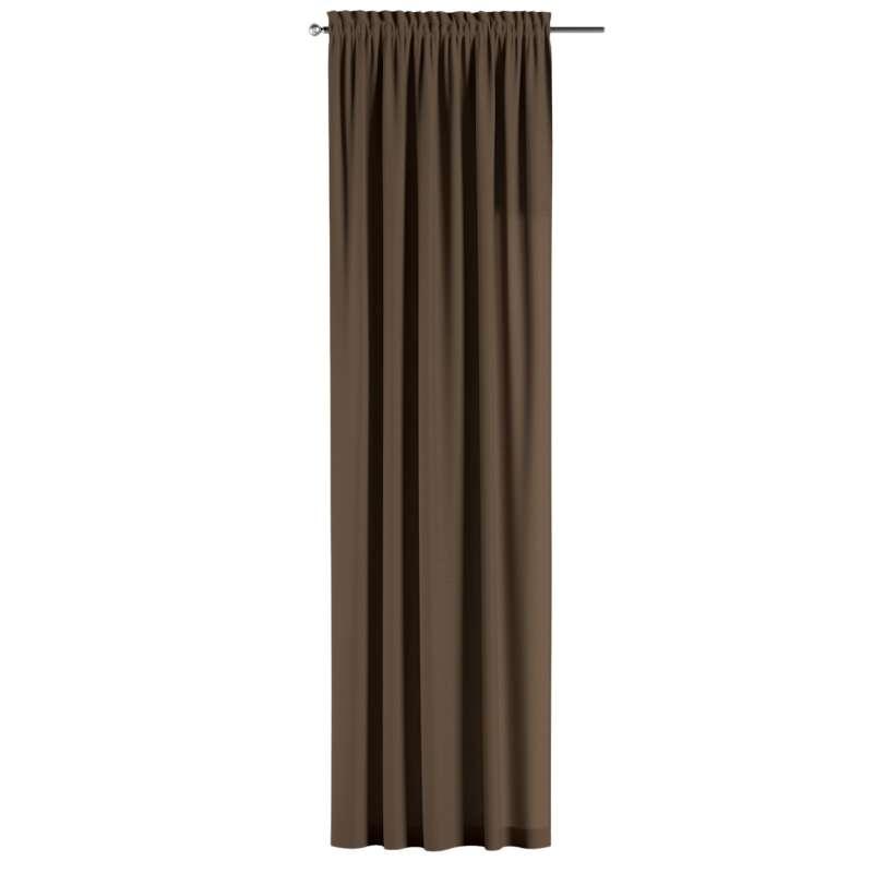Záves s navliekacou riasiacou páskou V kolekcii Cotton Panama, tkanina: 702-02