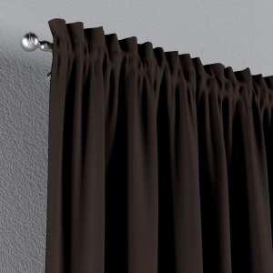 Zasłona na kanale z grzywką 1 szt. 1szt 130x260 cm w kolekcji Cotton Panama, tkanina: 702-03