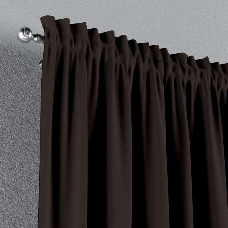 Záves s navliekacou riasiacou páskou V kolekcii Cotton Panama, tkanina: 702-03