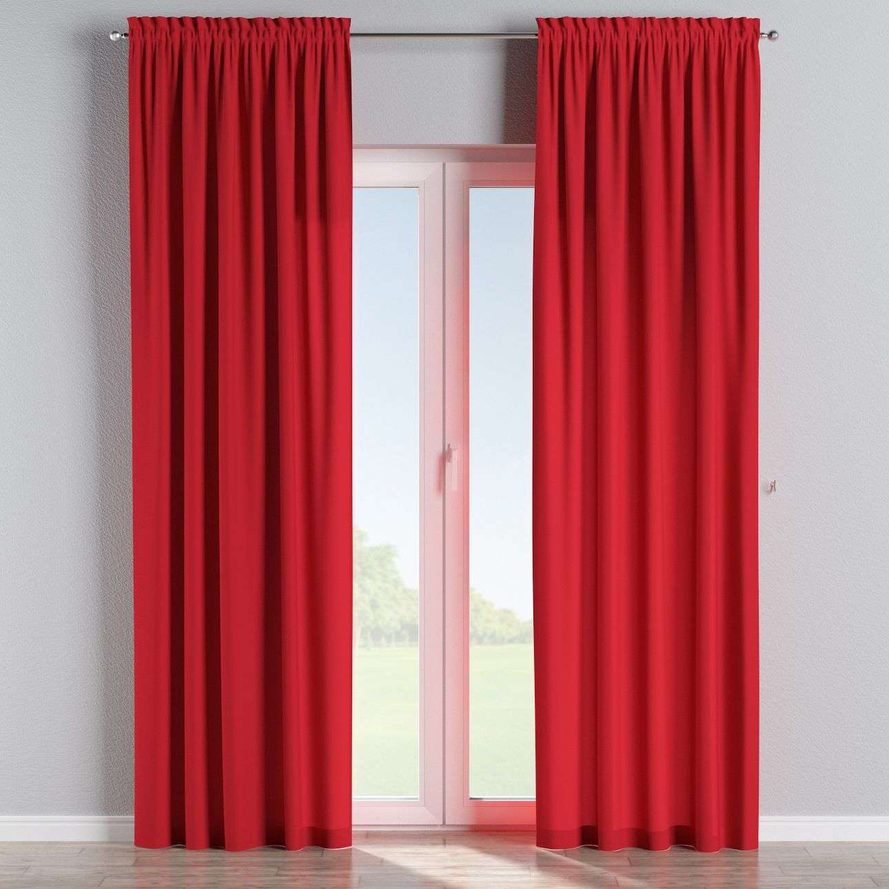 Slot and frill curtains in collection Panama Cotton, fabric: 702-04