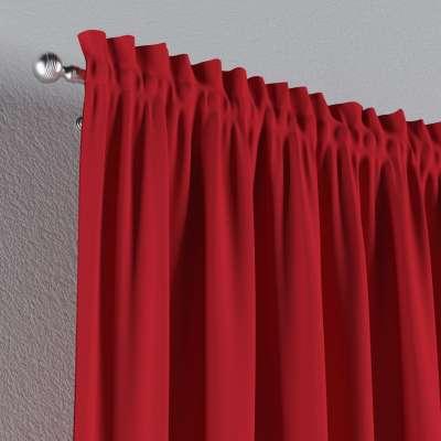 Gardin med kanal och rynkband för fingerkrokar - 1 längd i kollektionen Panama Cotton, Tyg: 702-04