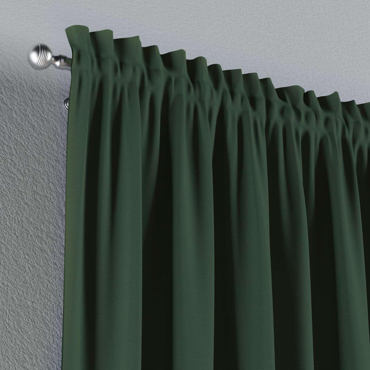 Zasłona na kanale z grzywką 1 szt. 1szt 130x260 cm w kolekcji Cotton Panama, tkanina: 702-06