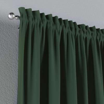 Vorhang mit Tunnel und Köpfchen von der Kollektion Cotton Panama, Stoff: 702-06