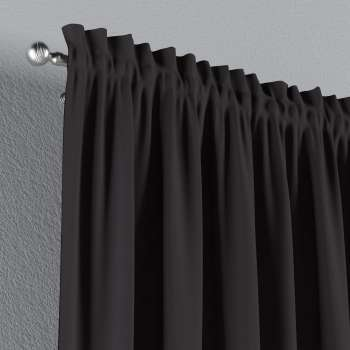 Vorhang mit Tunnel und Köpfchen von der Kollektion Cotton Panama, Stoff: 702-09