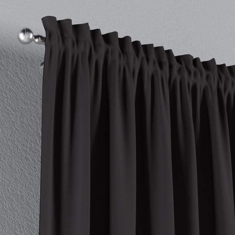 Záves s navliekacou riasiacou páskou V kolekcii Cotton Panama, tkanina: 702-09