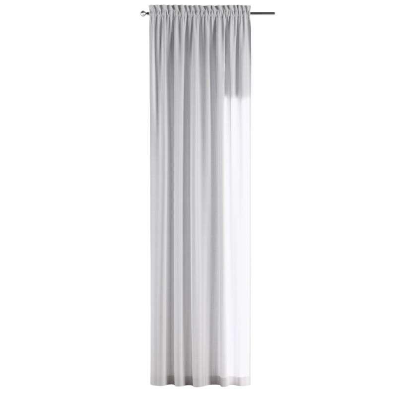 Záves s navliekacou riasiacou páskou V kolekcii Linen, tkanina: 392-03