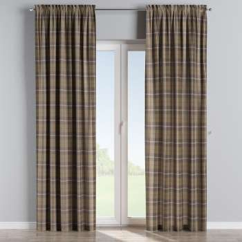 Slot and frill curtains 130 x 260 cm (51 x 102 inch) in collection Edinburgh, fabric: 115-76