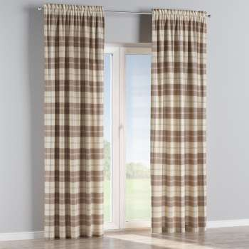 Slot and frill curtains in collection Edinburgh, fabric: 115-80