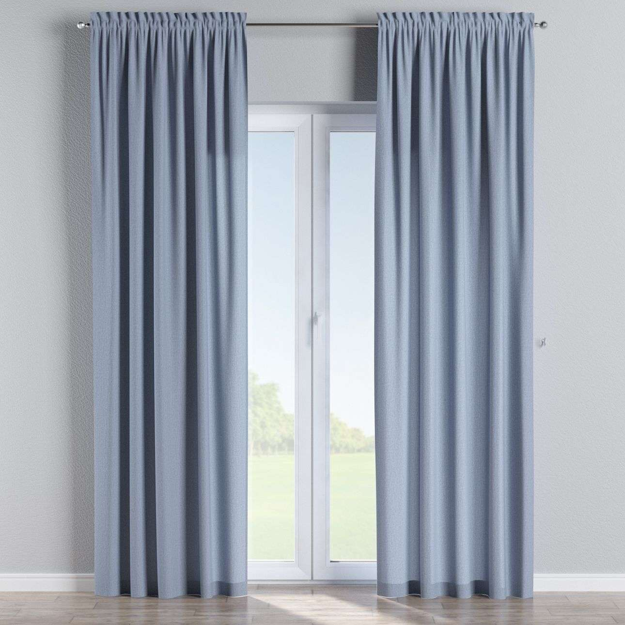 Slot and frill curtains in collection Chenille, fabric: 702-13