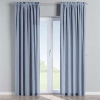 Slot and frill curtains 130 x 260 cm (51 x 102 inch) in collection Chenille, fabric: 702-13