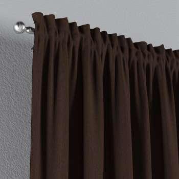 Gardin med kanal - Multiband 1 längd i kollektionen Chenille, Tyg: 702-18