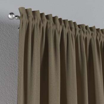 Slot and frill curtains 130 x 260 cm (51 x 102 inch) in collection Chenille, fabric: 702-21