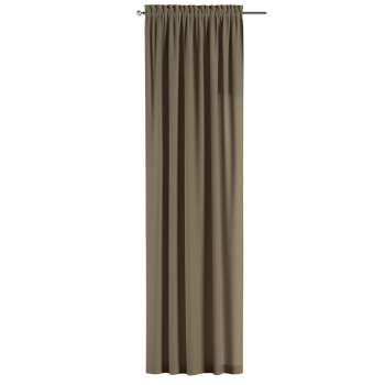Slot and frill curtains 130 × 260 cm (51 × 102 inch) in collection Chenille, fabric: 702-21