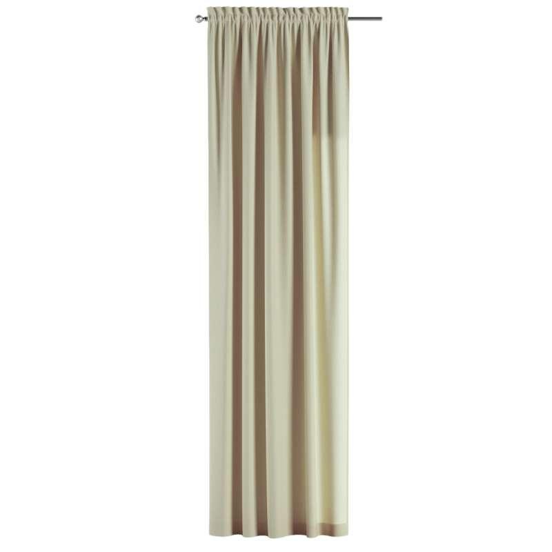 Záves s navliekacou riasiacou páskou V kolekcii Chenille, tkanina: 702-22