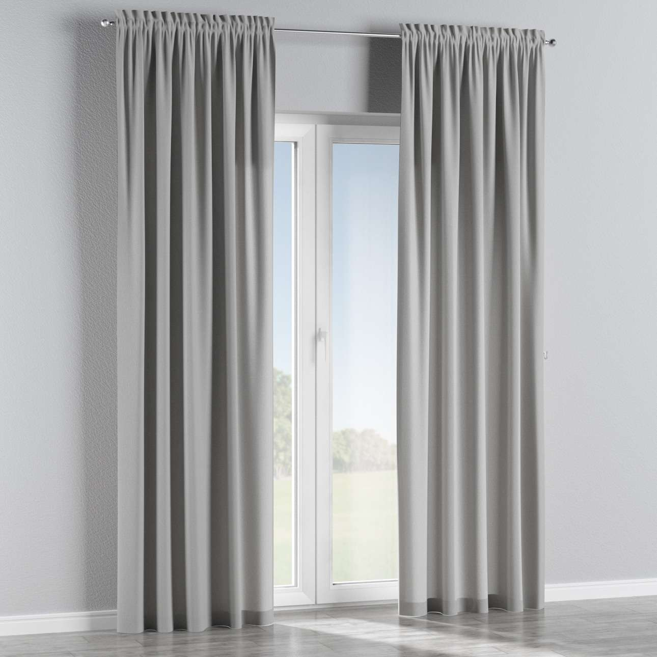 Slot and frill curtains 130 × 260 cm (51 × 102 inch) in collection Chenille, fabric: 702-23