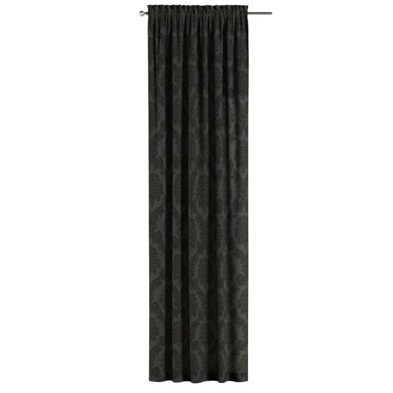 Záves s navliekacou riasiacou páskou V kolekcii Damasco, tkanina: 613-32