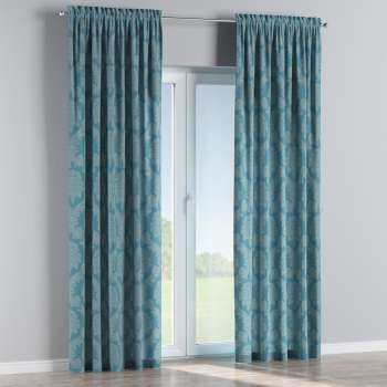 Slot and frill curtains in collection Damasco, fabric: 613-67
