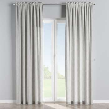 Slot and frill curtains in collection Damasco, fabric: 613-81