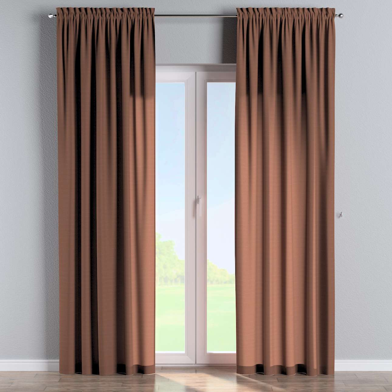 Slot and frill curtains in collection Loneta , fabric: 133-09