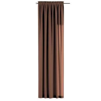 Gardin med kanal - Multiband 1 längd 130 × 260 cm i kollektionen Loneta , Tyg: 133-09