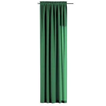 Zasłona na kanale z grzywką 1 szt. 1szt 130x260 cm w kolekcji Loneta, tkanina: 133-18