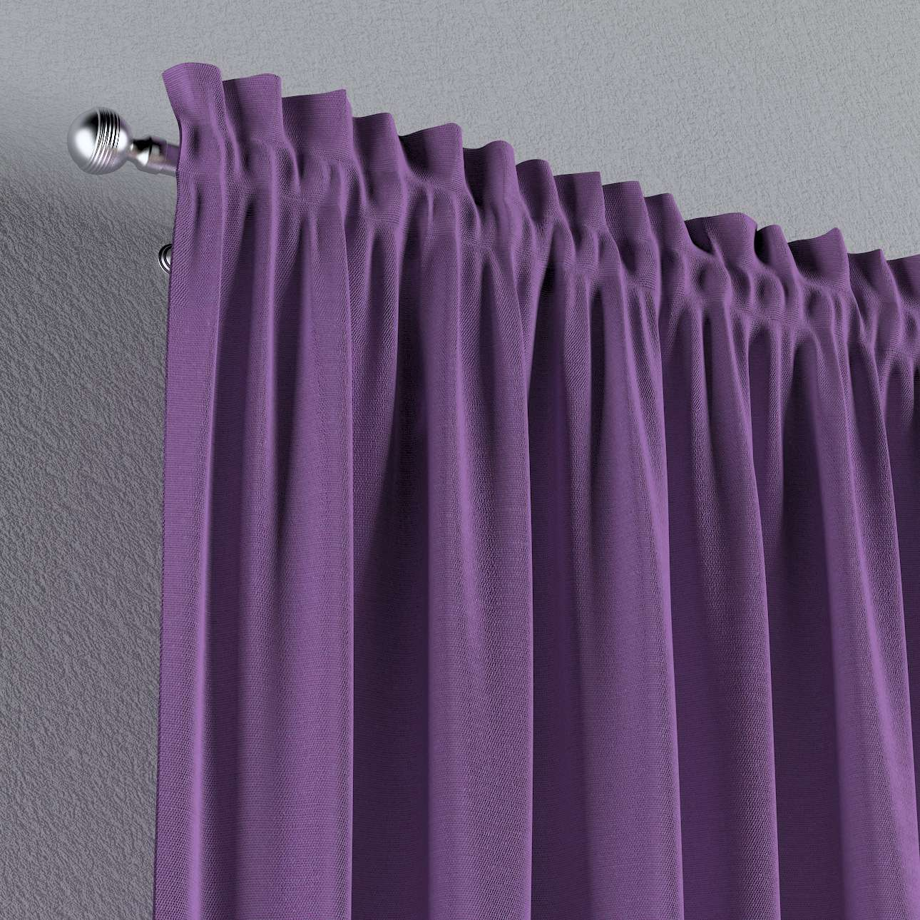 Slot and frill curtains 130 x 260 cm (51 x 102 inch) in collection Loneta , fabric: 133-19