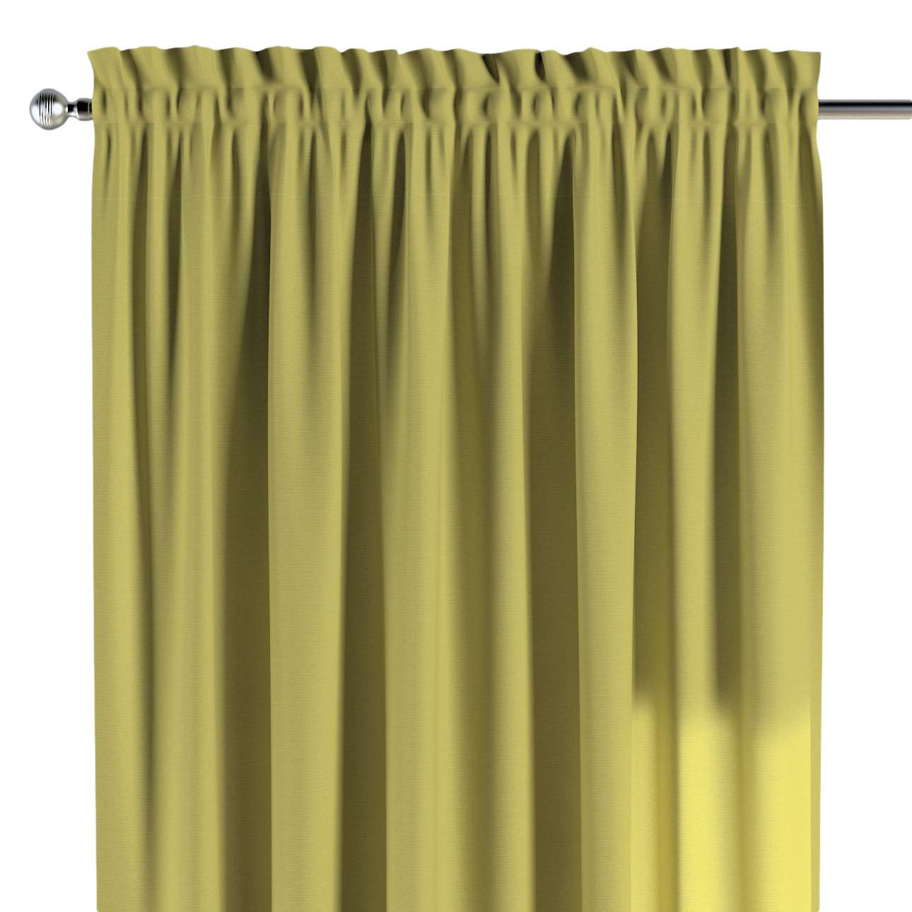 Slot and frill curtains 130 × 260 cm (51 × 102 inch) in collection Loneta , fabric: 133-23