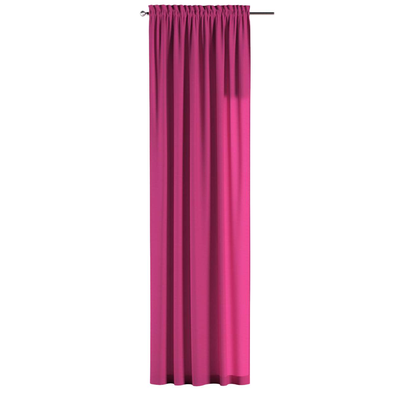 Slot and frill curtains in collection Loneta , fabric: 133-60