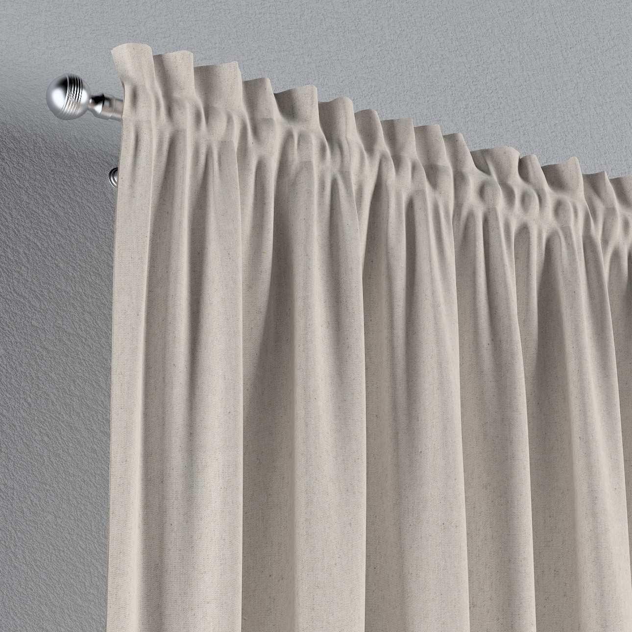 Slot and frill curtains 130 × 260 cm (51 × 102 inch) in collection Loneta , fabric: 133-65