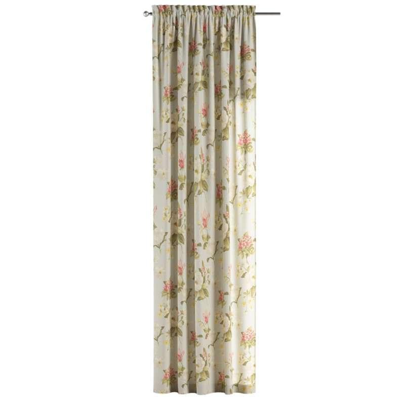 Záves s navliekacou riasiacou páskou V kolekcii Londres, tkanina: 123-65