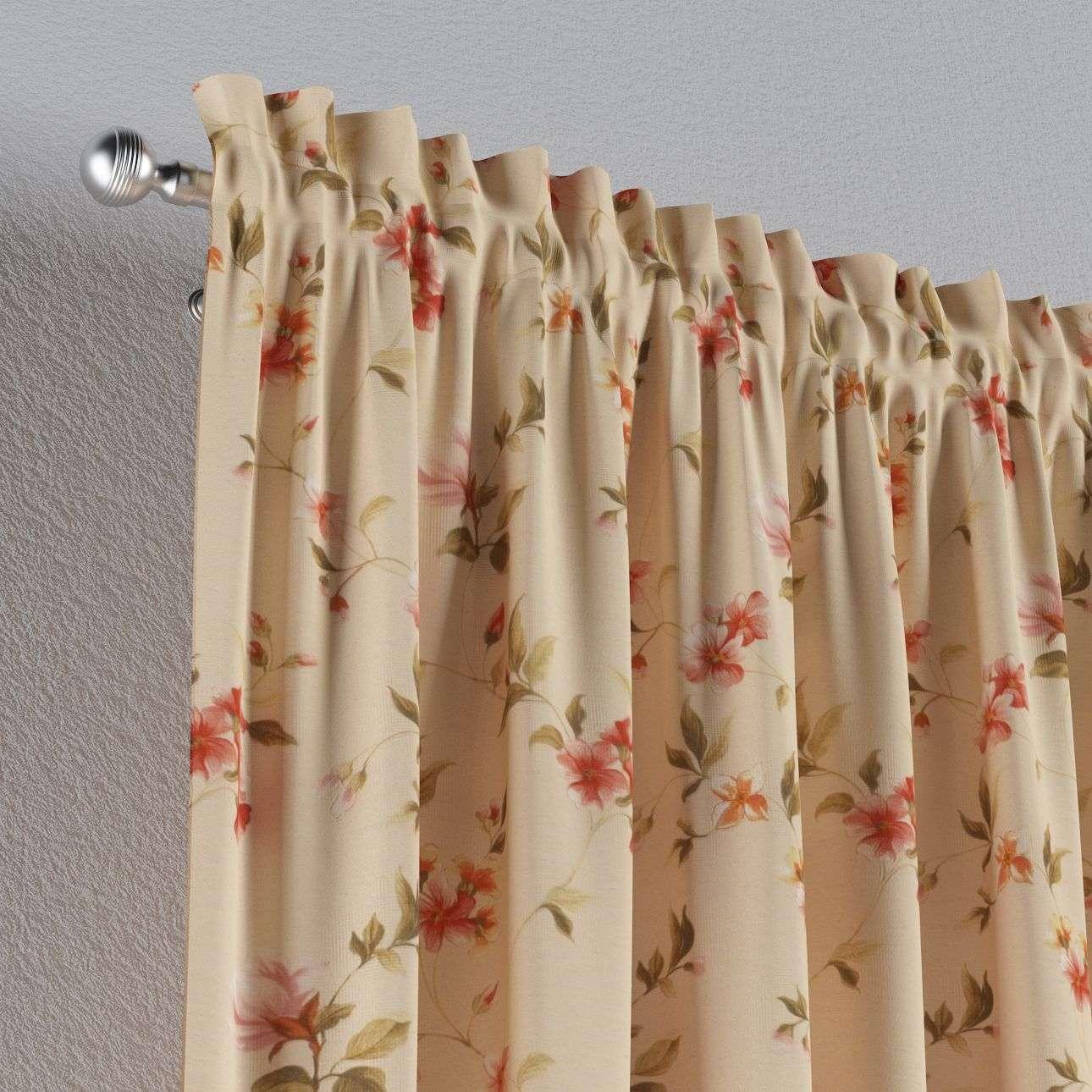Záves s navliekacou riasiacou páskou 130 × 260 cm V kolekcii Londres, tkanina: 124-05