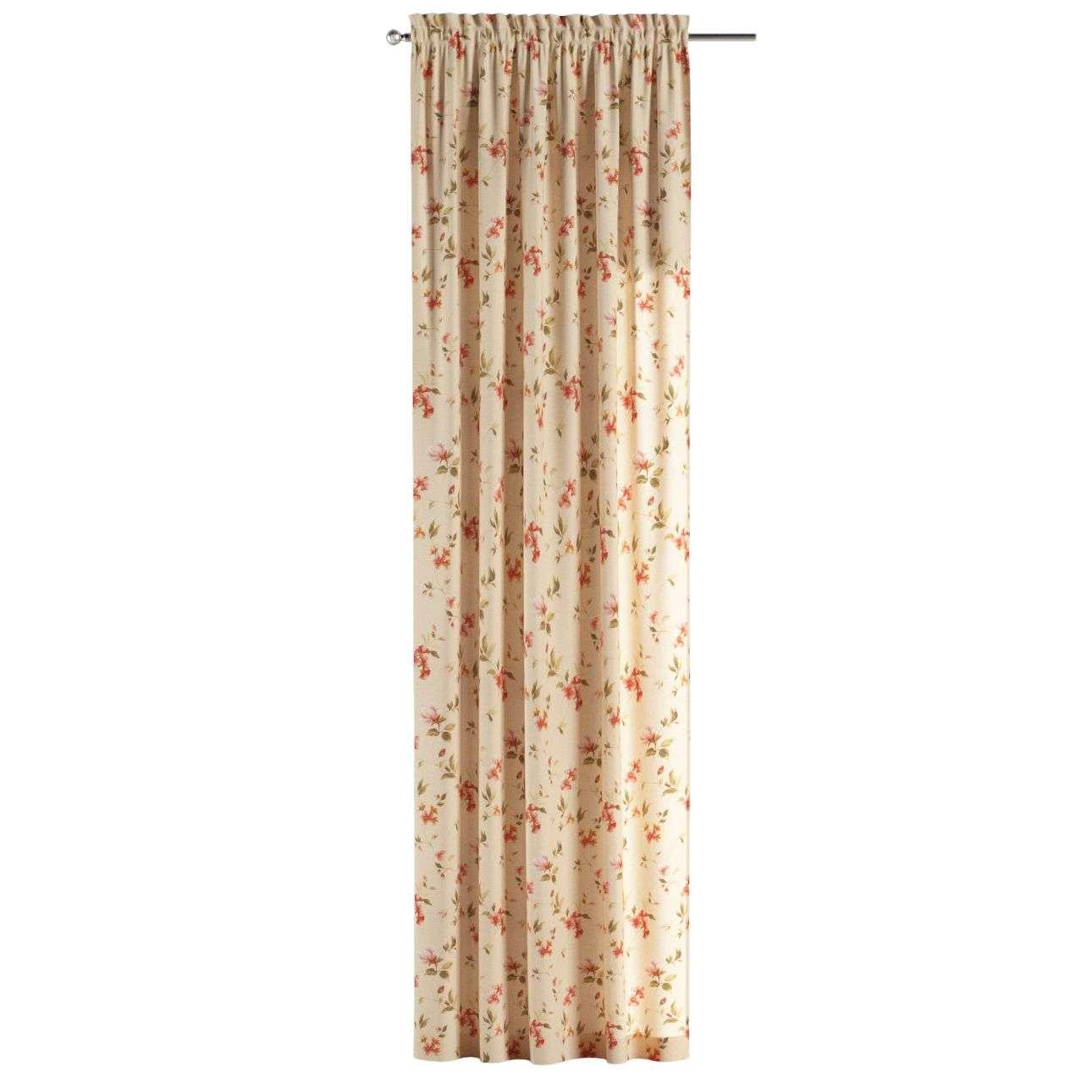 Záves s navliekacou riasiacou páskou V kolekcii Londres, tkanina: 124-05