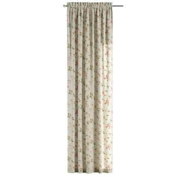 Zasłona na kanale z grzywką 1 szt. 1szt 130x260 cm w kolekcji Londres, tkanina: 124-65