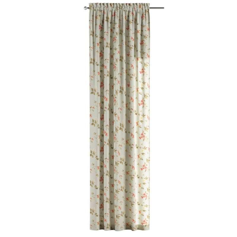 Záves s navliekacou riasiacou páskou V kolekcii Londres, tkanina: 124-65