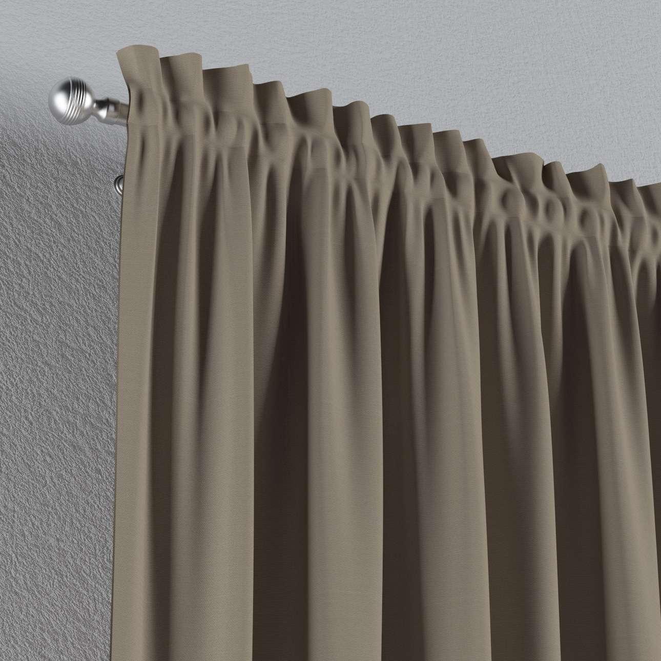 Su paaukštintu viršumi užuolaidos 130 x 260 cm kolekcijoje Cotton Panama, audinys: 702-28