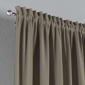 Vorhang mit Tunnel und Köpfchen 130 x 260 cm von der Kollektion Cotton Panama, Stoff: 702-28