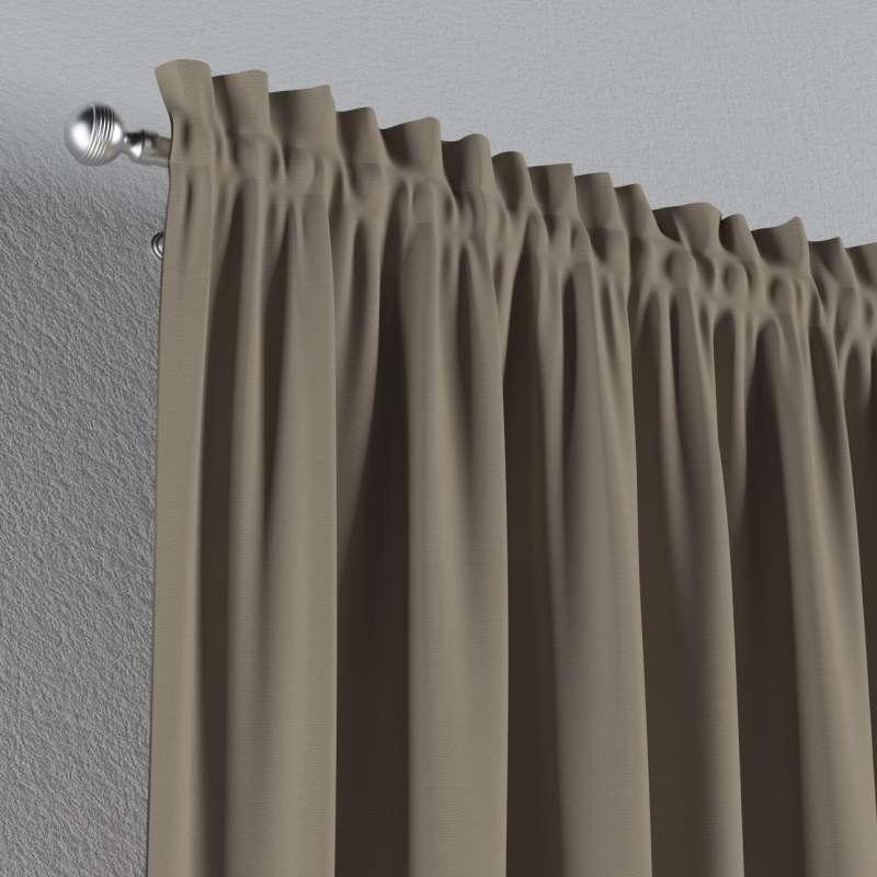 Záves s navliekacou riasiacou páskou V kolekcii Cotton Panama, tkanina: 702-28