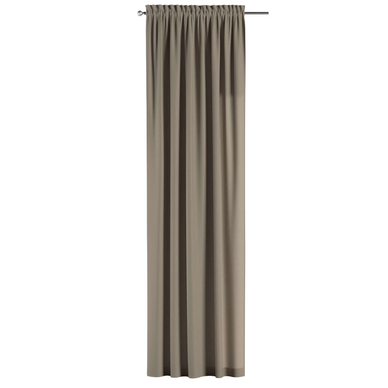 Gardin med kanal - Multiband 1 längd i kollektionen Panama Cotton, Tyg: 702-28