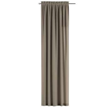 Gardin med løbegang - multibånd 130 × 260 cm fra kollektionen Cotton Panama, Stof: 702-28