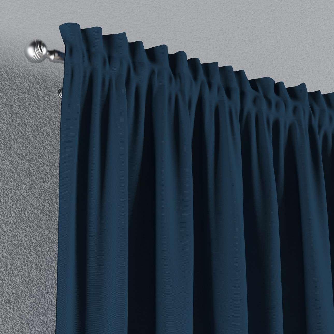 Gardin med løpegang - multibånd 1 stk. 130 × 260 cm fra kolleksjonen Cotton Panama, Stoffets bredde: 702-30