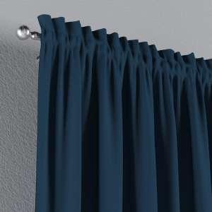 Zasłona na kanale z grzywką 1 szt. 1szt 130x260 cm w kolekcji Cotton Panama, tkanina: 702-30