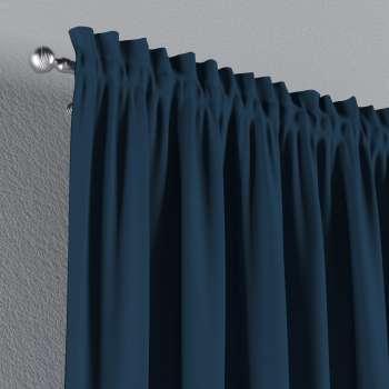 Zasłona na kanale z grzywką 1 szt. w kolekcji Cotton Panama, tkanina: 702-30