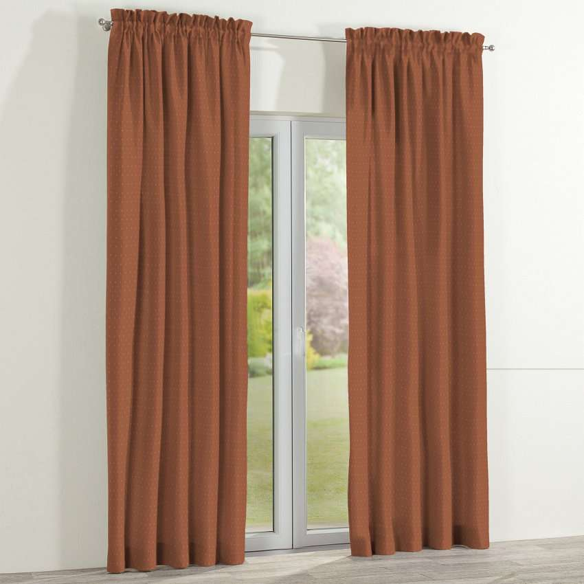 Slot and frill curtains 130 x 260 cm (51 x 102 inch) in collection SALE, fabric: 130-08