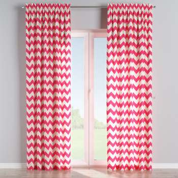 Slot and frill curtains 130 x 260 cm (51 x 102 inch) in collection Comics/Geometrical, fabric: 135-00