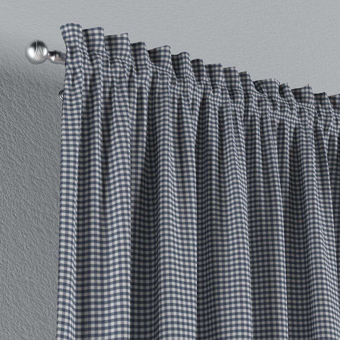 Slot and frill curtains 130 x 260 cm (51 x 102 inch) in collection Quadro, fabric: 136-00